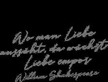 William Shakespeare Trauerspruch