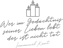 Immanuel Kant Trauerspruch